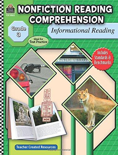 Nonfiction Reading Comprehension: Informational Reading, Grade 3 por Tracie Heskett