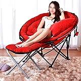 AJZXHEEinfach und Kreativ Klappstühle, Tragbare Freizeitstuhl, Sitzsäcke, Liegestuhl,