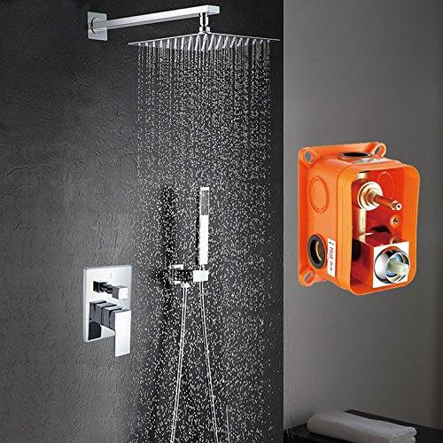 Luxurious shower Livraison gratuite douche murale avec 8\
