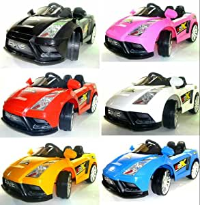 New Lamborghini Style 12v electric Ride on kids Car with remote control-black