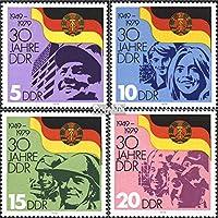 Briefmarken f/ür Sammler Eisenbahn 1977 Verkehrsmuseum Prophila Collection DDR 2254-2258 kompl.Ausgabe