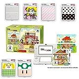 New Nintendo 3DS - Konsole, weiß + Animal Crossing Happy Home Designer + 7 Zierblenden