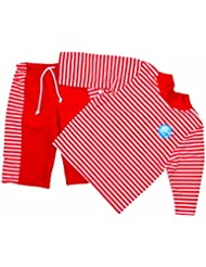 Splash About Kid's Loose Fit UV Sun Protection Top and Shorts