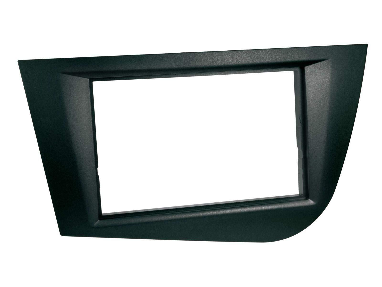 caraudio24-Kenwood-DMX120BT-AUX-Bluetooth-USB-MP3-2DIN-Autoradio-fr-Seat-Leon-05-09-schwarz
