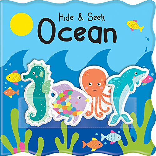 Hide & Seek Ocean: With Four Easy-Stick Characters! (Pocket Pals)