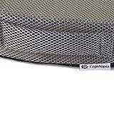 Ergotopia Orthopädisches Sitzkissen / Steißbeinkissen aus Viscoschaumstoff / Ergonomisches Sitzkissen zur Vorbeugung und Linderung von Rückenschmerzen sowie Ischias Problemen (Grau) - 3