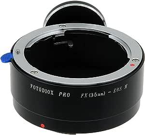 Fotodiox Lens Mount Adapter 35 Mm Fuji Fujica X Mount Camera Photo