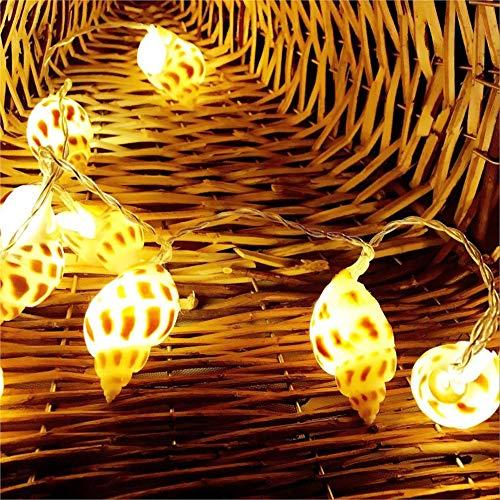 Led Fairy Conch Mittelmeer Batterie Lampe Girlande Led Dekoration Weihnachtskranz Neujahr Farbe 1,2...