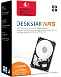 HGST Deskstar IDK 4 TB NAS WW 4000 GB Serial ATA III – interne Festplatten (4000 GB, Serial ATA III, 7200 RPM, 8,9 cm…