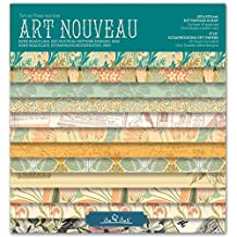 Scrapbook Art Nouveau - Pad 8''-203mm // Kit papeles para scrapbooking