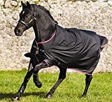 Horseware Amigo Turnout Hero 6 medium black purple (130)