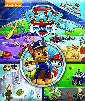 Mini primer busca y encuentra. Patrulla canina (LM1LF) de Pi Kids