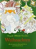 Idena 68143–libro da colorare per adulti, motivo: Natale, 64pagine