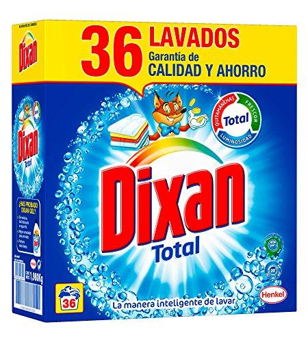 Dixan Detergente en Polvo - 36 Lavados