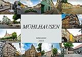 Mühlhausen Impressionen (Wandkalender 2019 DIN A2 quer): Zu Besuch in der wunderschünen Stadt Mühlhausen (Monatskalender, 14 Seiten ) (CALVENDO Orte) - Dirk Meutzner