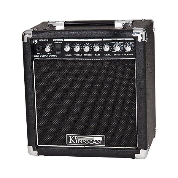 Kinsman kg25fx amplificatore per chitarra 25W Combo con effetti digitali