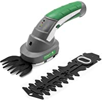 Gracious Gardens 2 IN 1 3.6V Cordless Electric Hedge Trimmer Built in Lithium Ion Battery, Topiary Shears, Hand Held Trimmer, Cordless Shears Ideal for Shrub, Garden, Grass or Lawn Cultivation