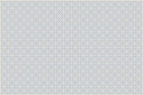 VINILIKO, Alfombra de vinilo, Jalousie, Azul, 133x200 cm