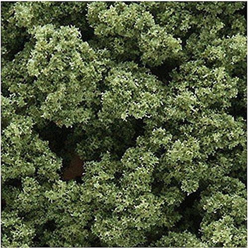 Woodland Scenics Foglie e 64 zirconi, 18 cm, Colore: Verde Chiaro