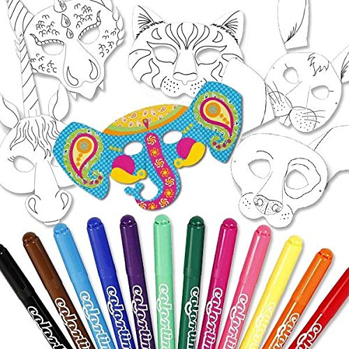 masken-malset-mit-6-tiermasken-12-colrotime-malern-und-gummibandern