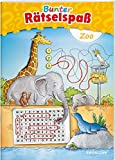 Bunter Rätselspaß Zoo ab 7 Jahren (Rätsel, Spaß, Spiele)