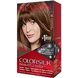 Revlon ColorSilk Tinte de Cabello Permanente Tono #41 Castaño ...