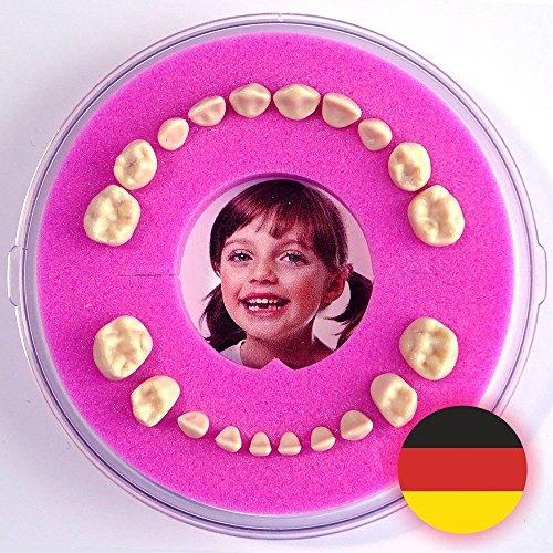 Milchzahndose >Firsty Round< (Rosa, Mädchen) ABF Deutsch