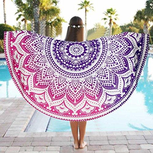 sunshineBoby_Kleidung Unter Strand Pool Home Dusche Handtuch Decke Tischdecke Yoga-Matte, Mikrofaser Sport & Reisehandtuch Out-Door Multifunktional