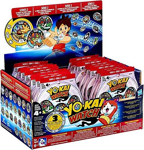 Preisvergleich Produktbild Yo-Kai Series 2 Medals - Case of 24 Blind Bags - 72 Random Medals by Yokai