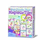 4M 00-04685 - Magic Transfer Fairy Magnitic Tiles, Bunt