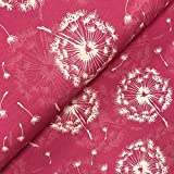 Swafing GmbH - Stoff - Jersey Pusteblumen pink - Meterware