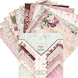 Somedays Blatt Masking Sticker Set Maskierung Aufkleber Labeling Craft Scrapbooking Deko Masking Tape für Tagebuch Geschenk Vintage Papieraufkleber DIY