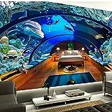 Mbwlkj Carta Da Parati Qualsiasi Dimensione 3D Hd Carta Da Parati Foto Mondo Subacqueo Acquari Murales 3D Salottino Tv Parete Impostazione Muro -150Cmx100Cm