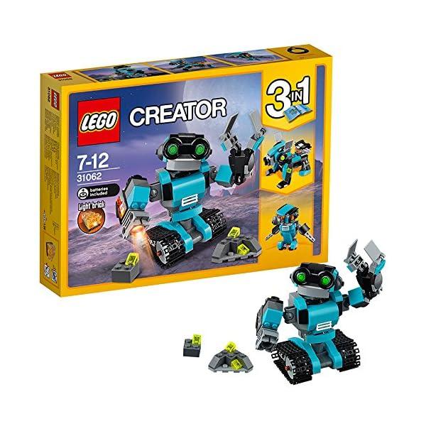 612VvQpdZlL. SS600  - LEGO Creator - Robot Explorador (31062)