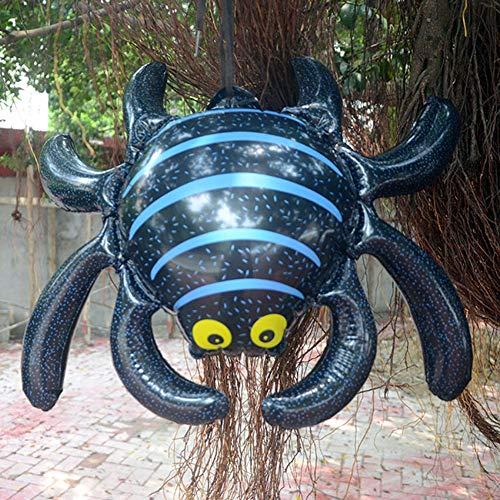 ETbotu Ballon für Halloween,Aufblasbarer hängender Yard-Einkaufszentrum-Bar-Party-Dekor S Spinne