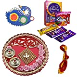 #6: Celebrations Ganesha Blessed Bhai Dooj Thali with Cadbury Celebrations, Mauli and Tilak