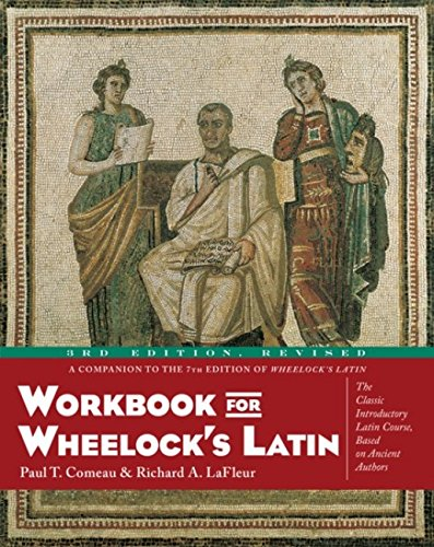 Workbook for Wheelock's Latin, 3rd Edition, Revised por Paul T. Comeau