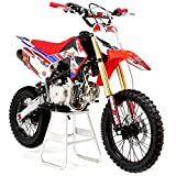 M2R Racing RF140 140cc 17/14 86cm Red Blue Dirt Bike Pit Off Road