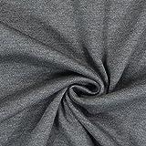 Fabulous Fabrics Romanit Jersey dunkelgrau – Weicher