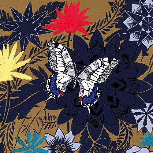 Apple iPhone 5 Housse étui coque protection Papillon Fleurs Fleurs Sideflip Sac
