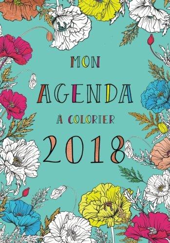 Agenda à colorier 2018