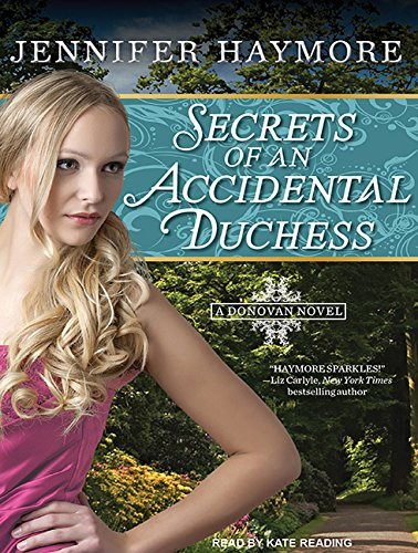 Secrets of an Accidental Duchess (Library Edition) Cover Image
