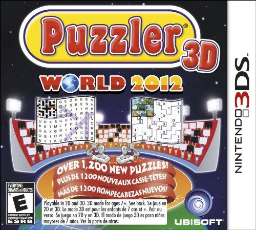 Ubisoft Puzzler World 2012 3D, 3DS - Juego (3DS, Nintendo 3DS, Rompecabezas, E (para todos))