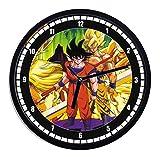 Reloj de pared de plástico Dragon Ball