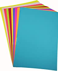 Paraspapermart A4 Color Paper 180-210 Gsm Pack Of 100 Sheets-Multicolor(10 colours x 10 Sheets each)- Coloured Paper, Best for Art & Craft work, Project Work,