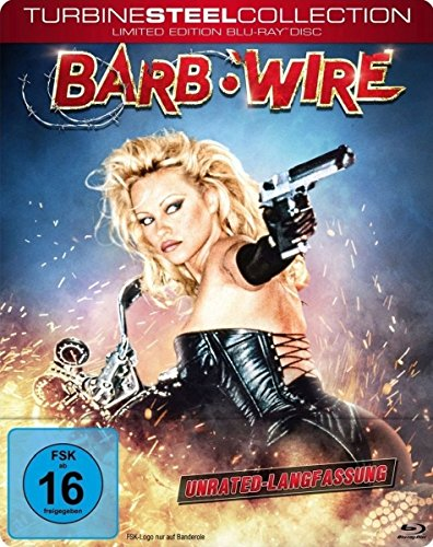 Kostüm Raiders - Barb Wire - Unrated (Turbine Steel Collection) [Blu-ray] [Limited Edition]