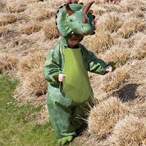 Deluxe - Disfraz de dinosaurio para niño, talla 5 - 2 años (Z12D)