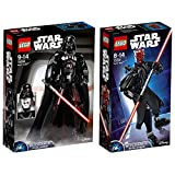 Lego Star Wars 2er Set 75534 75537 Darth Vader + Darth Maul
