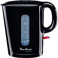 MOULINEX Bouilloire PRINCIPIO noire 1.7L Bouilloire électrique Bouilloire sans fil 2 Niveaux d'eau visible Filtre…