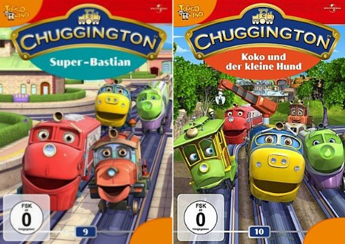 Chuggington 09 - Super-Bastian | Chuggington 10 - Koko und der kleine Hund (2-DVD) -